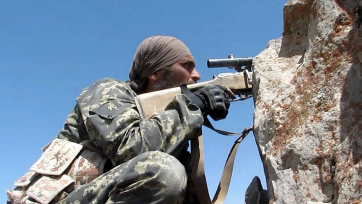 Фотография боевика «Исламского государства» в Афганистане, размещенная в Интернете в конце прошлого года. После поражений в Ираке и Сирии ряд боевиков из Центральной Азии, связанных с этой террористической группировкой, мигрировали в Афганистан. [Архив]