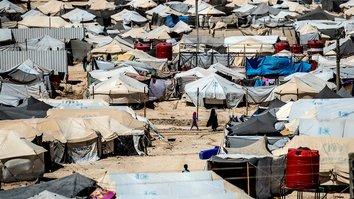 Над сирийским лагерем, откуда идет репатриация, нависла угроза «Исламского государства»