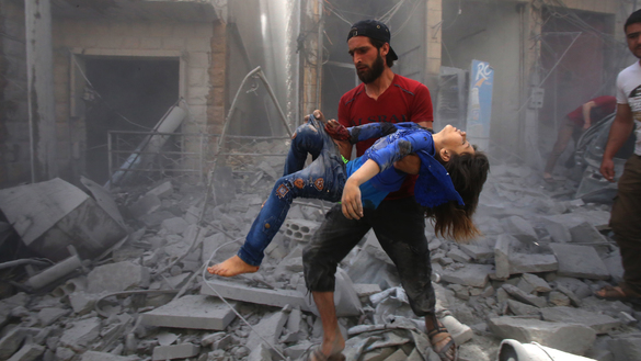 Russia has killed more than 6,500 civilians in Syria, rights group says