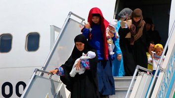 Uzbekistan brings home 64 children from Iraq in latest repatriation effort