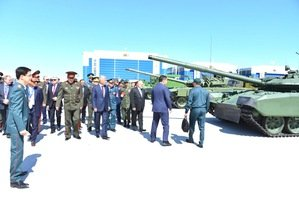 Kazakhstan holds KADEX arms show
