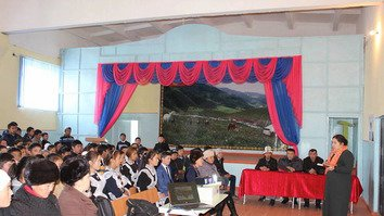 Kyrgyzstani teenagers join the fight against extremism