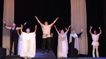 Aktobe play commemorates terror attack victims