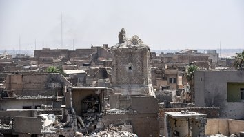 IS destruction of Mosul's al-Nuri mosque 'declaration of defeat'