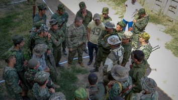 Joint military exercise underscores common challenges to Central Asia