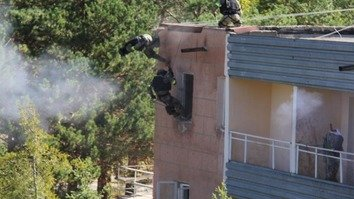 In photos: Kyrgyz military conducts anti-terrorism drills