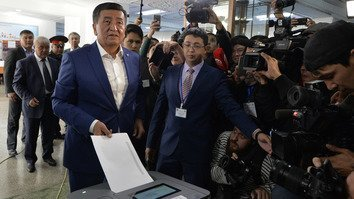 Kyrgyz presidential election 'organised' and 'fair', observers say