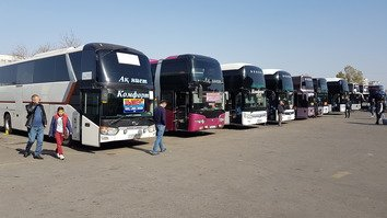 Kazakhstan, Uzbekistan launch cross-border bus service