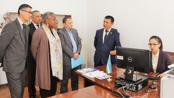 Uzbekistani legal system gets technology upgrade with help from US, UN