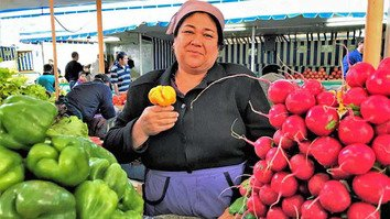 World Bank loans help Uzbekistani farmers sell fruits and vegetables