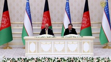 Uzbekistan, Afghanistan agree to co-operate 'in all spheres'