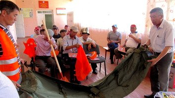 Move Green youth group helps Kyrgyz prepare for natural disasters