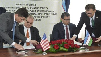USAID pledges support for judicial reform in Uzbekistan
