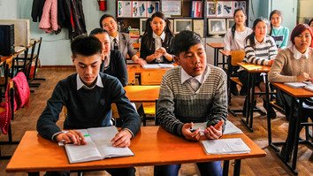 Kyrgyzstan strives to protect schoolchildren from natural disasters