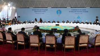 World religious leaders gather in Astana to promote peace