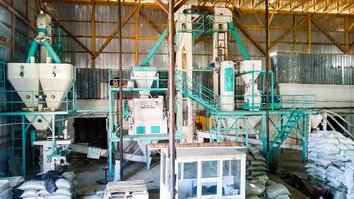 USAID helps open Osh's first modern animal feed mill