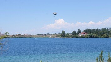 Kyrgyzstan's Lake Issyk-Kul attracts more and more Central Asian tourists