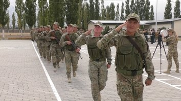 Kyrgyzstan, Kazakhstan focus on extremist threats during joint military exercises