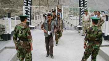 Tajik forces open new security outpost on Afghan border