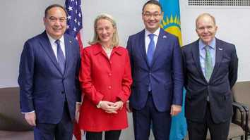 Kazakh, US officials discuss strategic partnership in Washington