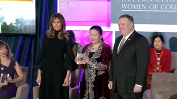 Kazakh woman who exposed Chinese oppression receives US courage award