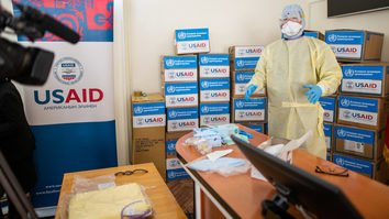 US donates protective equipment to Central Asia to halt spread of coronavirus