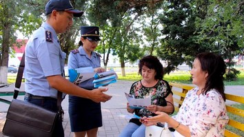 With US backing, Kazakh NGOs, police combat human trafficking