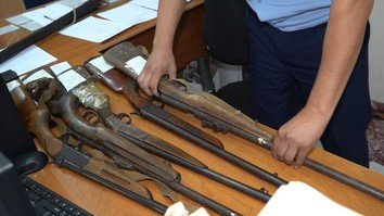 Kazakhstan's annual gun buy-back campaign collects more than 100 weapons so far