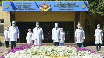 Kazakh military adapts to realities of COVID-19 pandemic