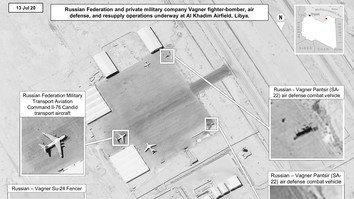 New imagery shows Russian military supplying Wagner Group in Libya