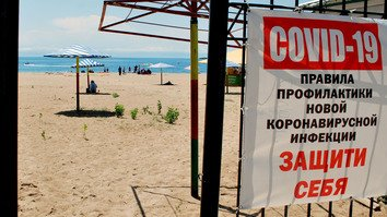 In photos: Kyrgyzstan's tourism industry reels from COVID-19 pandemic