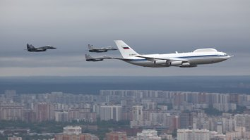 Russia loses 'doomsday plane' equipment in latest military mishap