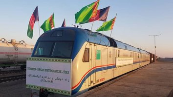 Turkmenistan, Afghanistan open new rail, power and communication links
